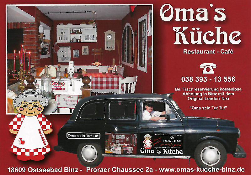 Stunning Omas Küche Binz Images - Rellik.us - rellik.us